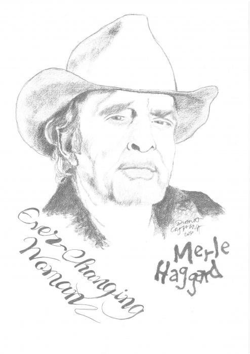 Merle Haggard by Chestnut